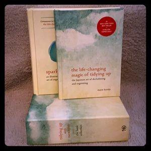 "Marie Kondo Two Book Set Includes  ""Spark Joy"""